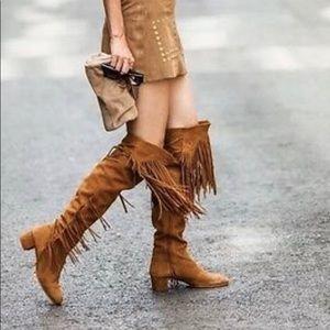 Zara Suede Boots